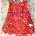 patron gratuit robe d'été fillette