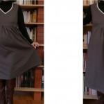 patron gratuit robe de grossesse