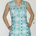 patron gratuit robe jersey femme