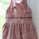 patron gratuit robe petite fille
