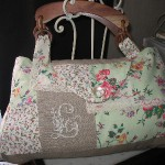 patron gratuit sac en patchwork