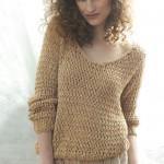 patron gratuit tricot chandail femme