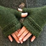 patron gratuit tricot mitaine