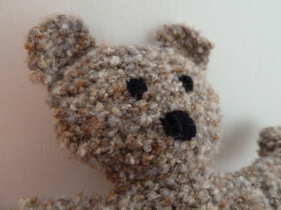 modèle gratuit ours tricot