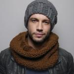 modèle gratuit tricot bonnet homme