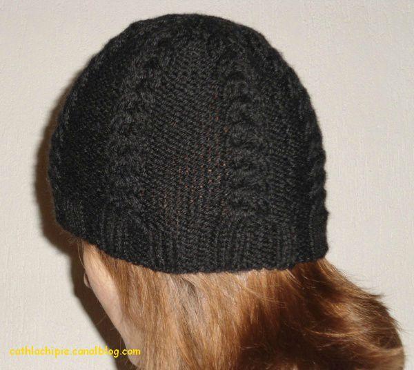 1887cc335b9c Modele gratuit tricot bonnet femme tricot bonnet pompon ...
