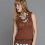 modèle gratuit tricot débardeur femme