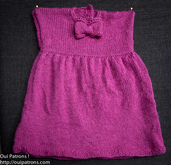 Photo modèle gratuit tricot robe fille d4eaecdf064