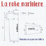 patron couture gratuit mariniere