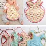 patron gratuit couture bébé