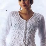 patron gratuit crochet chandail femme