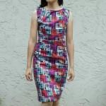 patron gratuit robe ajustée