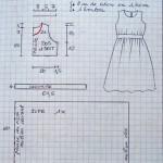 patron gratuit robe fille 8 ans