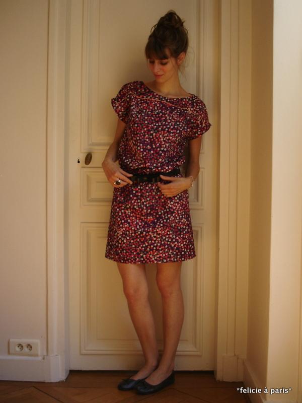 patron gratuit robe housse