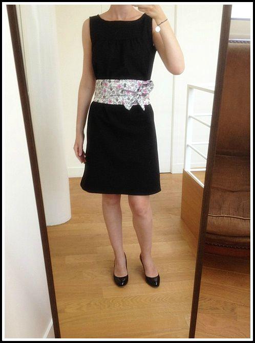 patron gratuit robe japonaise