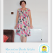 patron gratuit robe simple femme