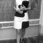 patron gratuit robe style courrege