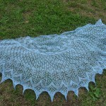 patron gratuit tricot dentelle