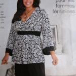 patron gratuit tunique femme grande taille