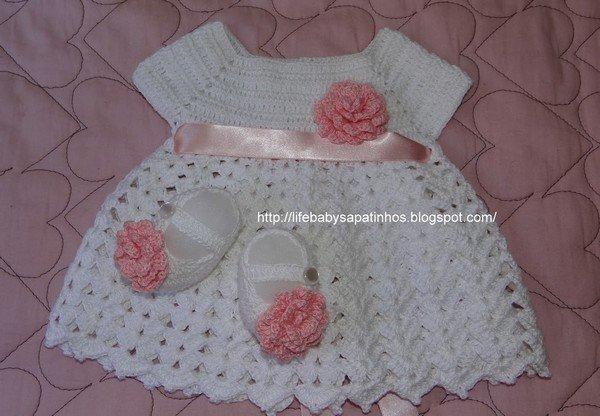 patron robe bebe crochet gratuit With patron robe bébé gratuit
