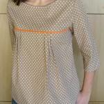 patron tunique blouse femme gratuit