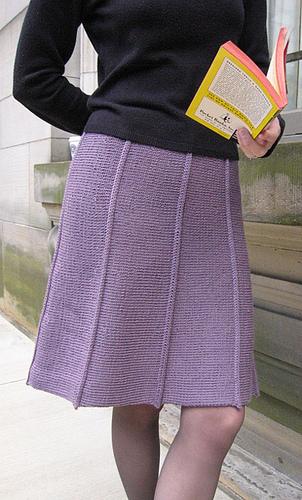 Modèle à tricoter gratuit Jupe Femme Laine Katia Alpacotton