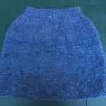 modèle gratuit tricot jupe