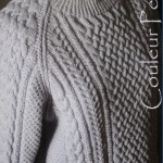 modèle gratuit tricot pull irlandais homme