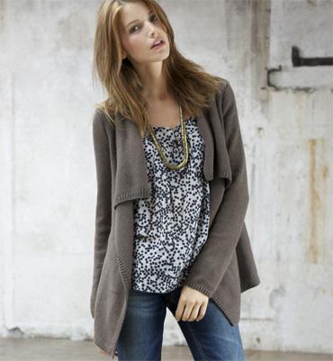 Tricoter une veste longue