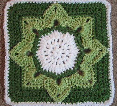 Modèle Patron Gratuit Carré Crochet