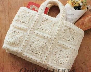 Photo Patron Gratuit Carré Crochet