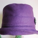 patron gratuit chapeau cloche