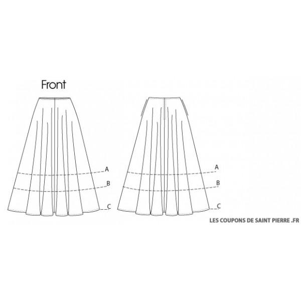 Patron gratuit couture jupe vas e - Patron couture jupe gratuit ...