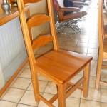 patron gratuit housse de chaise