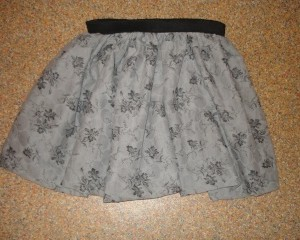 patron gratuit jupe elastique