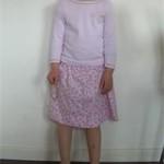 patron gratuit jupe fillette 8 ans