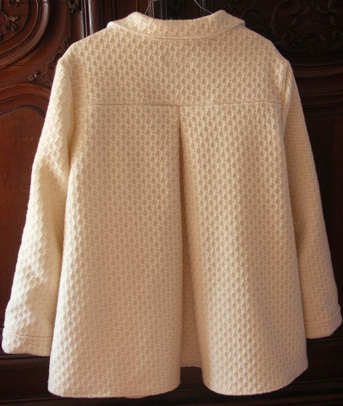 patron gratuit manteau femme