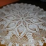 patron gratuit napperon tricot