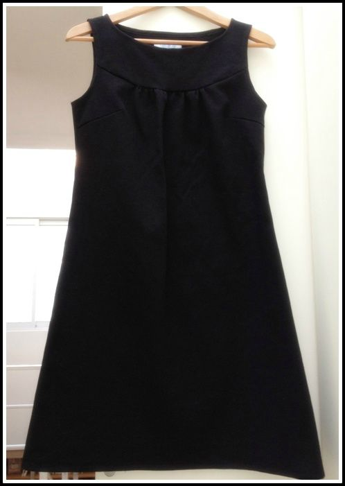 Patron petite robe noire