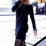 patron gratuit petite robe noire