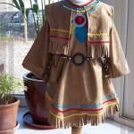 patron gratuit robe d'indienne
