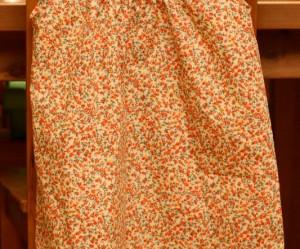patron gratuit robe encolure ronde