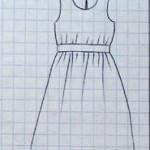patron gratuit robe femme ronde