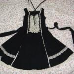 patron gratuit robe gothique