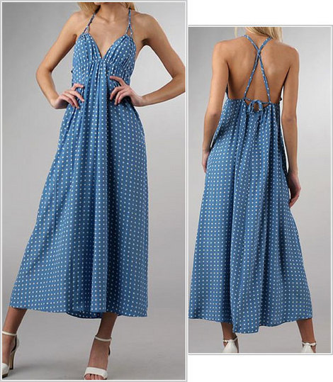 patron gratuit robe longue