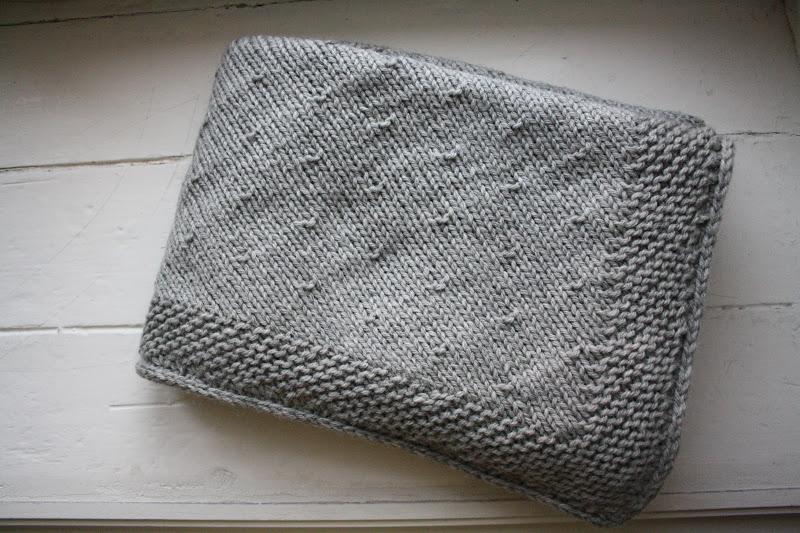 modele tricot couverture laine
