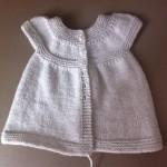 patron gratuit tricot robe bebe