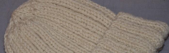 patron gratuit tricot tuque homme